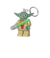 BRELOK DO KLUCZY Z LATARKĄ LEGO® STAR WARS™ YODA™ Z MIECZEM ŚWIETLNYM