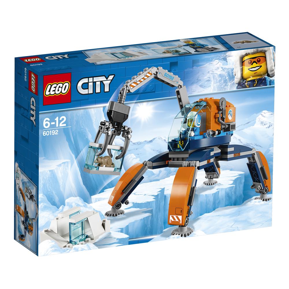 KLOCKI LEGO CITY ARCTIC EXPEDITION ARKTYCZNY ŁAZIK LODOWY 60192
