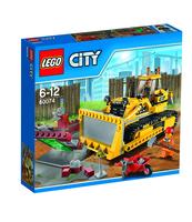 KLOCKI LEGO CITY DEMOLITION BULDOŻER 60074