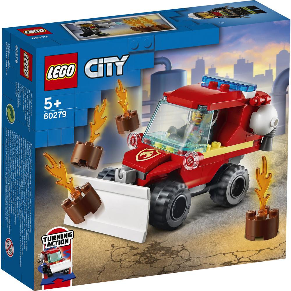 KLOCKI LEGO® CITY FIRE MAŁY WÓZ STRAŻACKI 60279