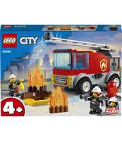 KLOCKI LEGO® CITY FIRE WÓZ STRAŻACKI Z DRABINĄ 60280