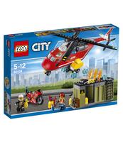 KLOCKI LEGO CITY HELIKOPTER STRAŻACKI 60108