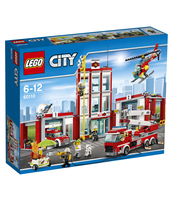 KLOCKI LEGO CITY REMIZA STRAŻACKA 60110