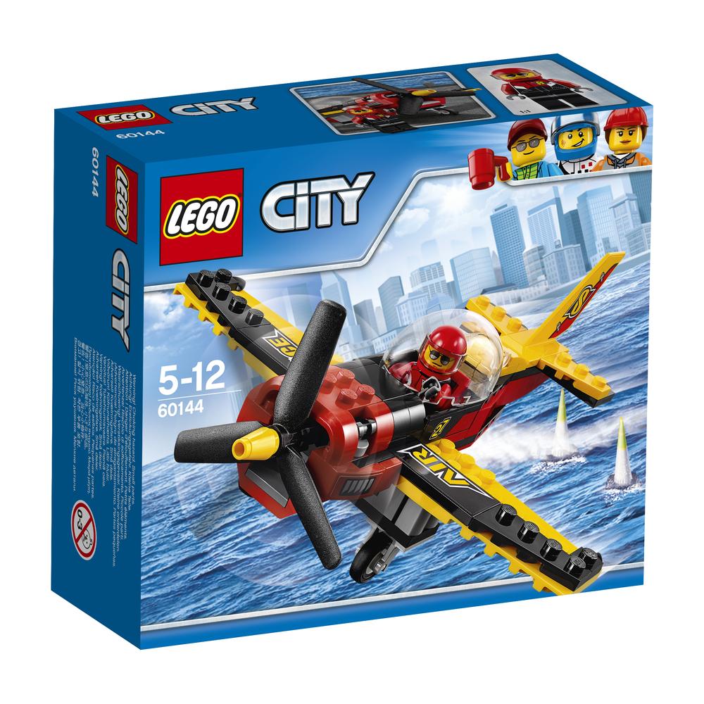 KLOCKI LEGO CITY GREAT VEHICLES SAMOLOT WYŚCIGOWY 60144