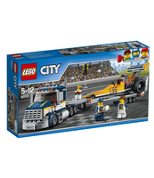 KLOCKI LEGO CITY GREAT VEHICLES TRANSPORTER DRAGSTERÓW 60151