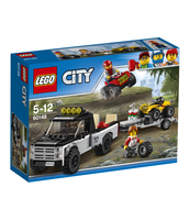 KLOCKI LEGO CITY GREAT VEHICLES WYŚCIGOWY ZESPÓŁ QUADOWY 60148