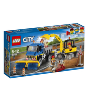 KLOCKI LEGO CITY GREAT VEHICLES ZAMIATACZ ULIC I KOPARKA 60152