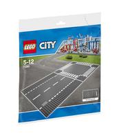 KLOCKI LEGO CITY ODCINEK PROSTY I SKRZYŻOWANIE 7280