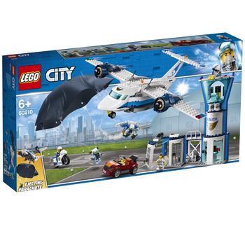 KLOCKI LEGO CITY BAZA POLICJI POWIETRZNEJ 60210