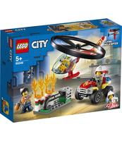 KLOCKI LEGO CITY FIRE HELIKOPTER STRAŻACKI LECI NA RATUNEK 60248