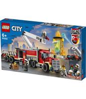 KLOCKI LEGO® CITY FIRE STRAŻACKA JEDNOSTKA DOWODZENIA 60282