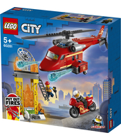KLOCKI LEGO® CITY FIRE STRAŻACKI HELIKOPTER RATUNKOWY 60281