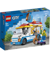 KLOCKI LEGO CITY GREAT VEHICLES FURGONETKA Z LODAMI 60253