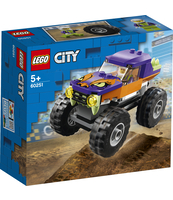 KLOCKI LEGO CITY GREAT VEHICLES MONSTER TRUCK 60251