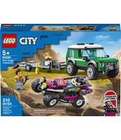 KLOCKI LEGO® CITY GREAT VEHICLES TRANSPORTER ŁAZIKA WYŚCIGOWEGO 60288