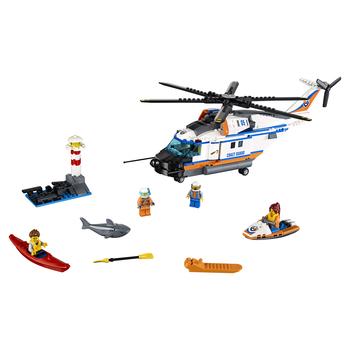 KLOCKI LEGO CITY HELIKOPTER RATUNKOWY DO ZADAŃ SPECJALNYCH 60166