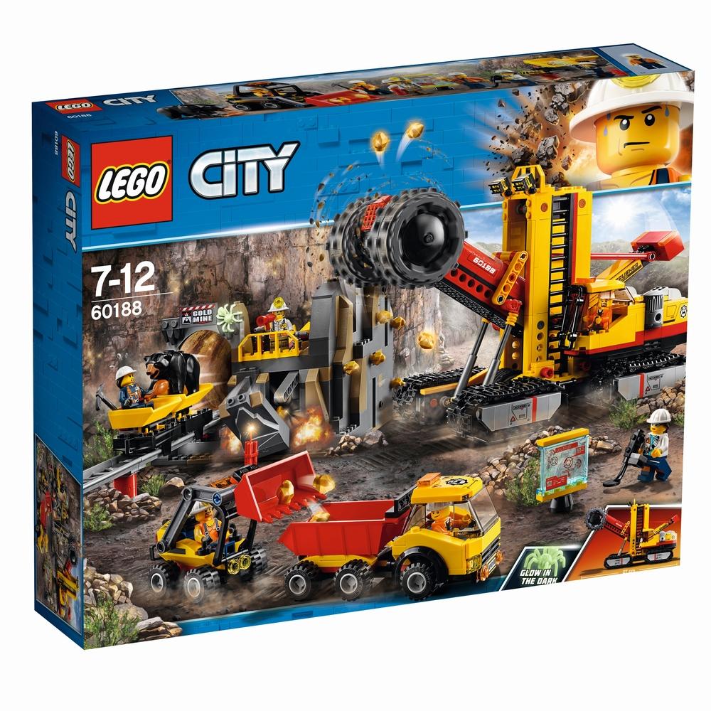 KLOCKI LEGO CITY KLOCKI LEGO CITY KOPALNIA 60188