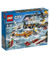 KLOCKI LEGO CITY KWATERA STRAŻY PRZYBRZEŻNEJ 60167
