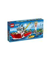 KLOCKI LEGO CITY ŁÓDŹ STRAŻACKA 60109