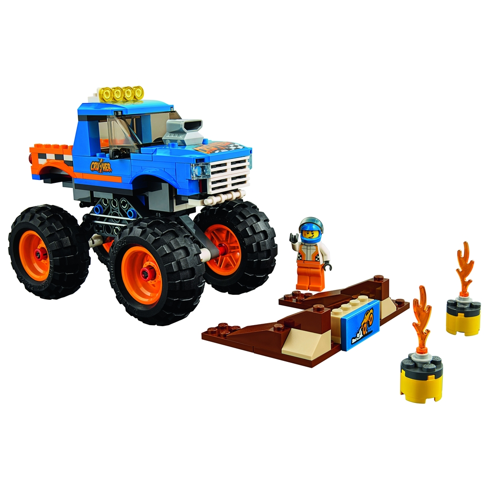 KLOCKI LEGO CITY MONSTER TRUCK 60180