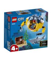 KLOCKI LEGO CITY OCEANS OCEANICZNA MINIŁÓDŹ PODWODNA 60263