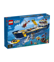 KLOCKI LEGO CITY OCEANS STATEK BADACZY OCEANU 60266