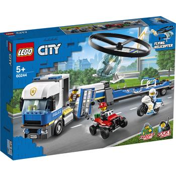 KLOCKI LEGO CITY POLICE LAWETA HELIKOPTERA POLICYJNEGO 60244