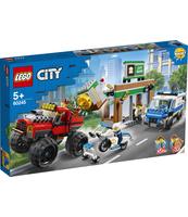 KLOCKI LEGO CITY POLICE NAPAD Z MONSTER TRUCKIEM 60245
