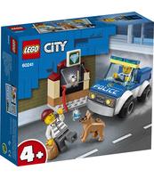 KLOCKI LEGO CITY POLICE ODDZIAŁ POLICYJNY Z PSEM 60241