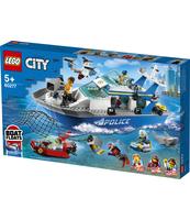 KLOCKI LEGO® CITY POLICE POLICYJNA ŁÓDŹ PATROLOWA 60277