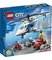 KLOCKI LEGO CITY POLICE POŚCIG HELIKOPTEREM POLICYJNYM 60243