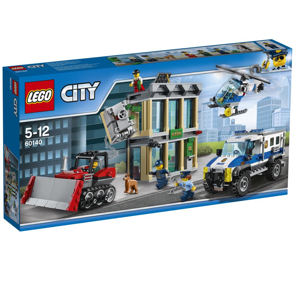KLOCKI LEGO CITY POLICE WŁAMANIE BULDOŻEREM 60140