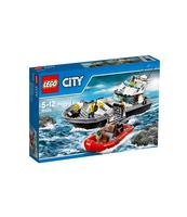 KLOCKI LEGO CITY POLICYJNA ŁÓDŹ PATROLOWA 60129