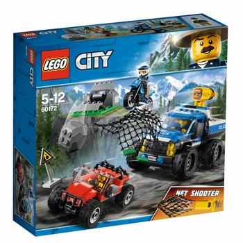 KLOCKI LEGO CITY POŚCIG GÓRSKĄ DROGĄ 60172