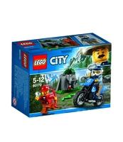 KLOCKI LEGO CITY POŚCIG ZA TERENÓWKĄ 60170