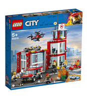 KLOCKI LEGO CITY REMIZA STRAŻACKA 60215
