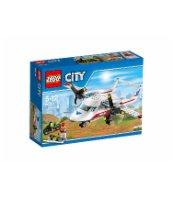 KLOCKI LEGO CITY SAMOLOT RATOWNICZY 60116