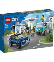 KLOCKI LEGO CITY STACJA BENZYNOWA 60257