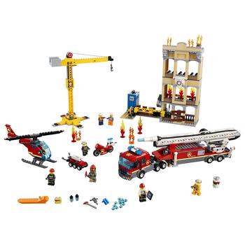 KLOCKI LEGO CITY STRAŻ POŻARNA W ŚRÓDMIEŚCIU 60216
