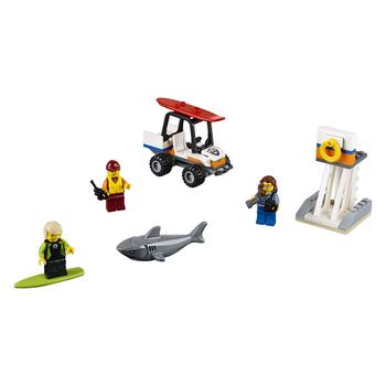 KLOCKI LEGO CITY STRAŻ PRZYBRZEŻNA — ZESTAW STARTOWY 60163