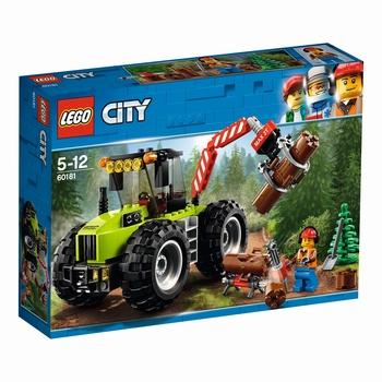 KLOCKI LEGO CITY TRAKTOR LEŚNY 60181