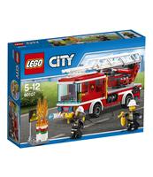 KLOCKI LEGO CITY WÓZ STRAŻACKI Z DRABINĄ 60107