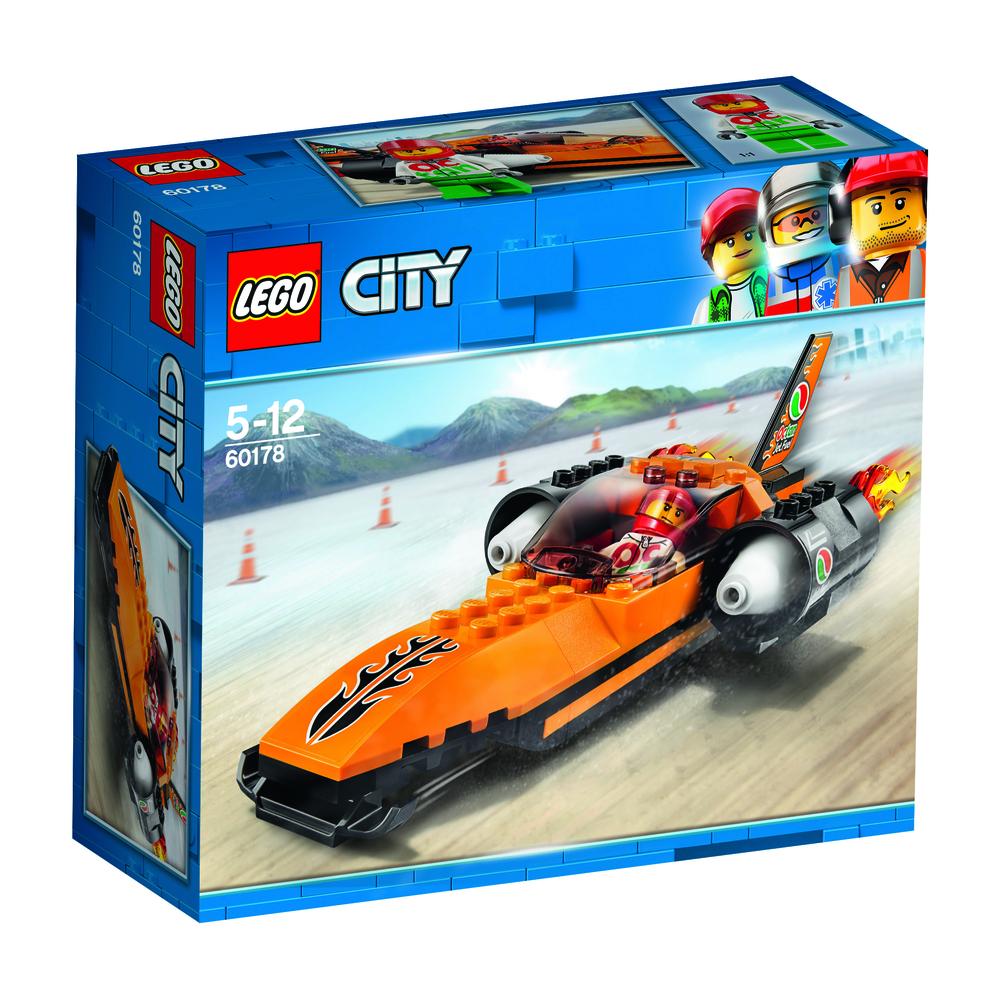 KLOCKI LEGO CITY WYŚCIGOWY SAMOCHÓD 60178