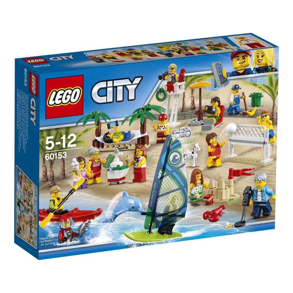 KLOCKI LEGO FRIENDS ZABAWA NA PLAŻY 60153