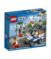 KLOCKI LEGO CITY POLICE POLICJA — ZESTAW STARTOWY 60136