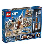 KLOCKI LEGO CITY SPACE PORT CENTRUM LOTÓW KOSMICZNYCH 60228