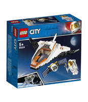 KLOCKI LEGO CITY SPACE PORT NAPRAWA SATELITY 60224