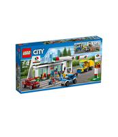 KLOCKI LEGO CITY STACJA PALIW 60132