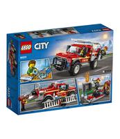 KLOCKI LEGO CITY TOWNTERENÓWKA KOMENDANTKI STRAŻY POŻARNEJ 60231