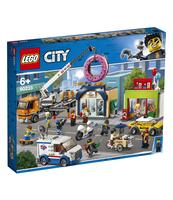 KLOCKI LEGO CITY TOWN OTWARCIE SKLEPU Z PĄCZKAMI 60233